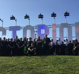 Acos Medical team at Victorious Festival